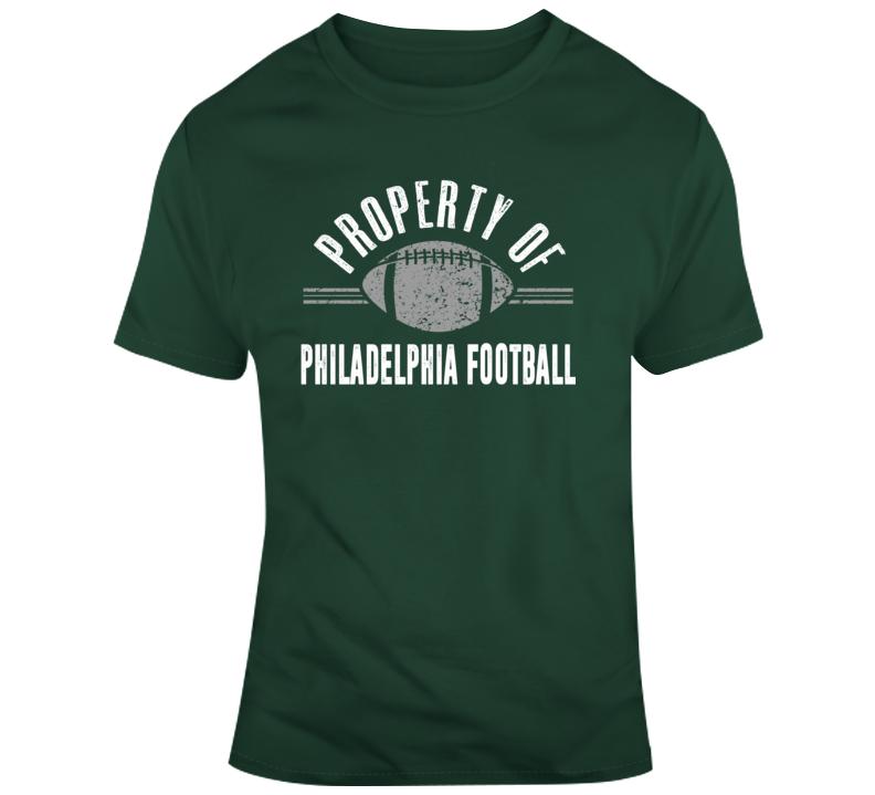 Property Of Philadelphia Football T Shirt