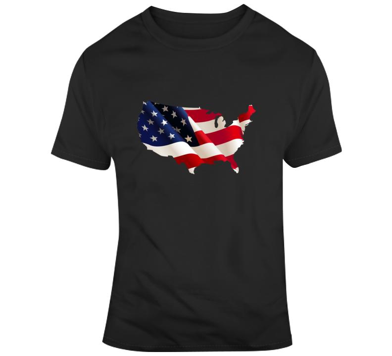 Patriotic U. S. A.  T Shirt