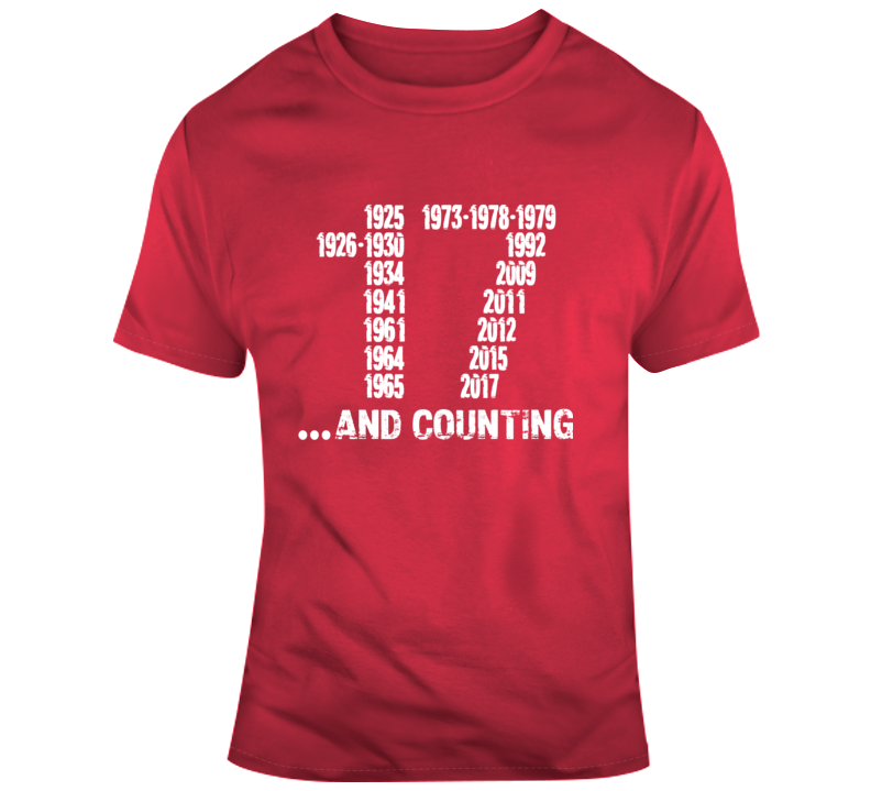 Alabama 17 And Counting T Shirt