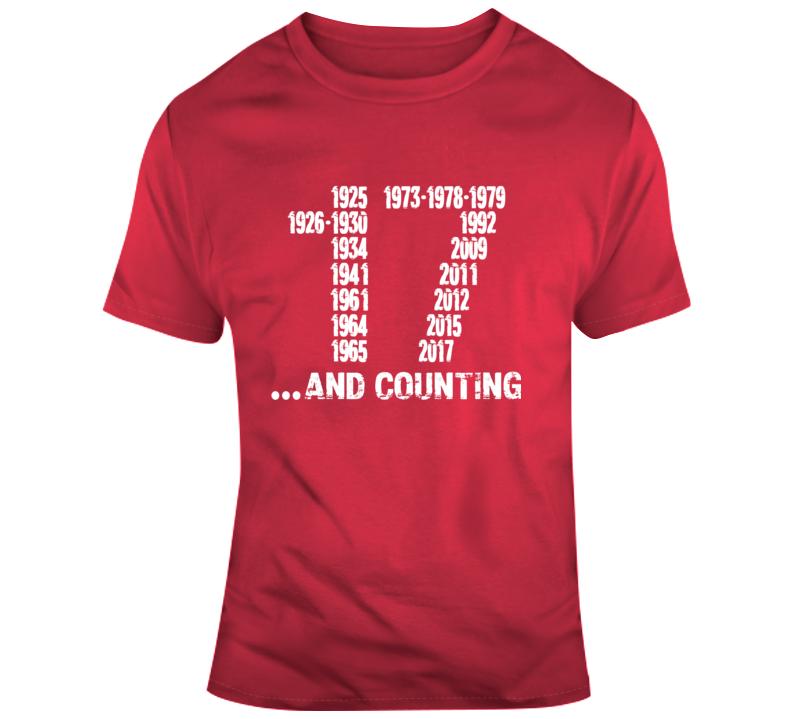 Alabama 17 And Counting T Shirt