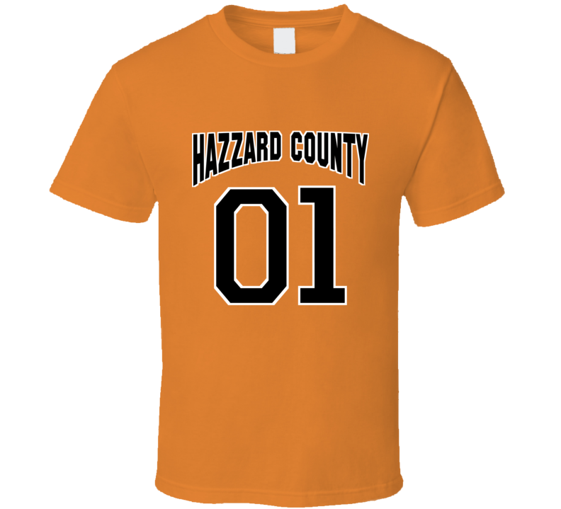 Hazzard County 01 T Shirt
