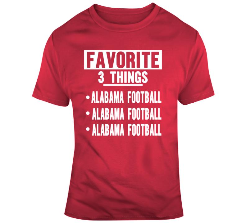 Favorite Alabama T Shirt