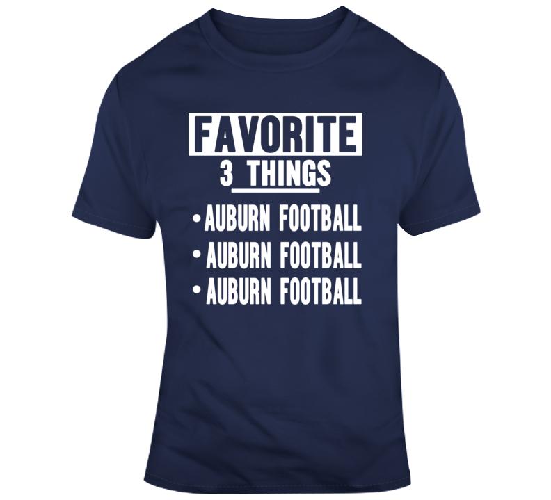 Favorite Auburn T Shirt