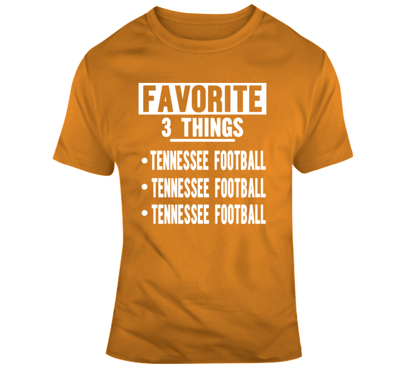 Favorite Tennessee T Shirt