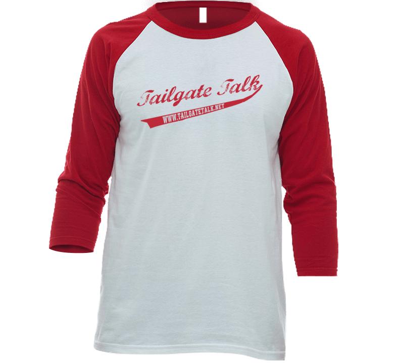 Tailgate Talk Baseball T Shirt