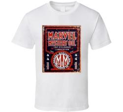 Marvel Motor Oil Vintage Garage T Shirt