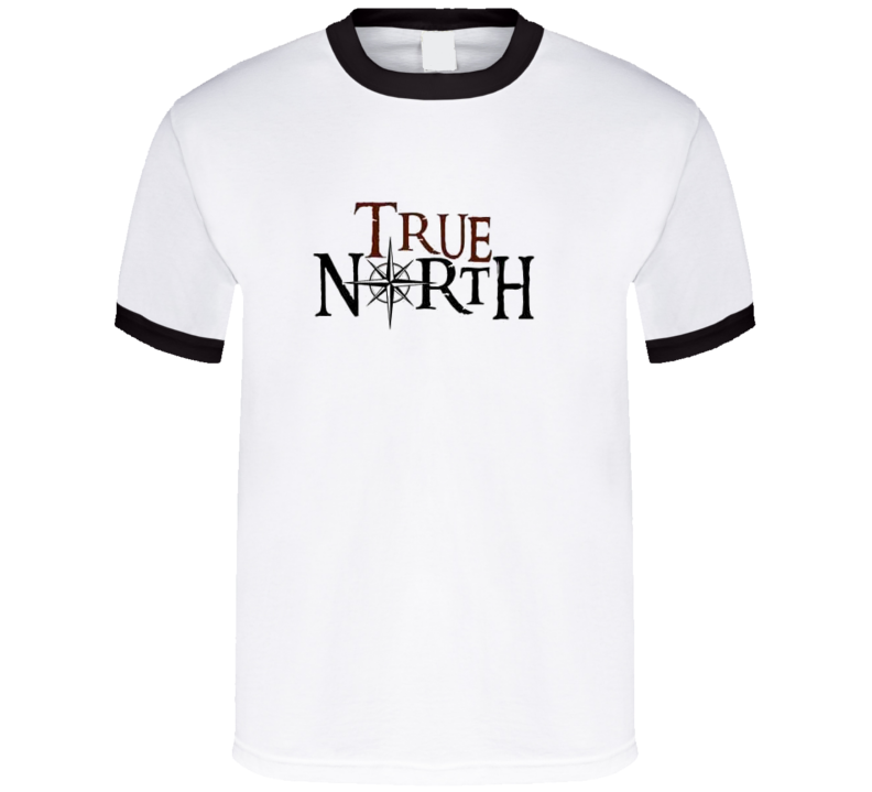 True North rock tee - black ringer T Shirt