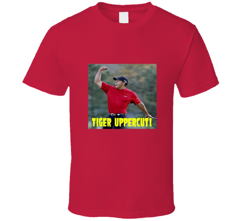 Tiger Woods - Tiger Uppercut T Shirt