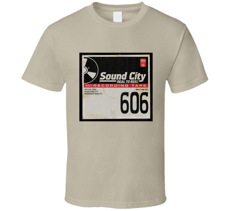 Sound City - tan T Shirt