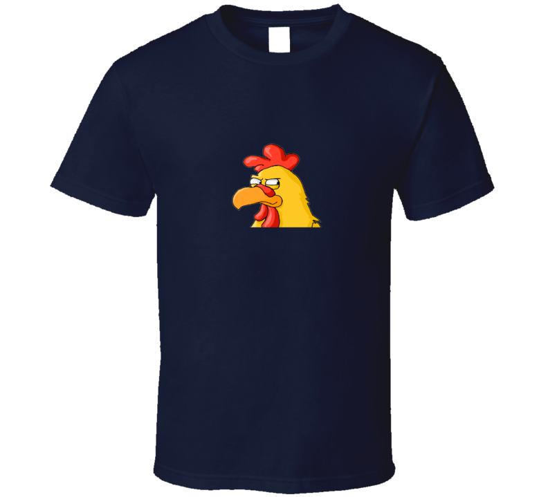 Family Guy Chicken - Navy Blue T Shirt
