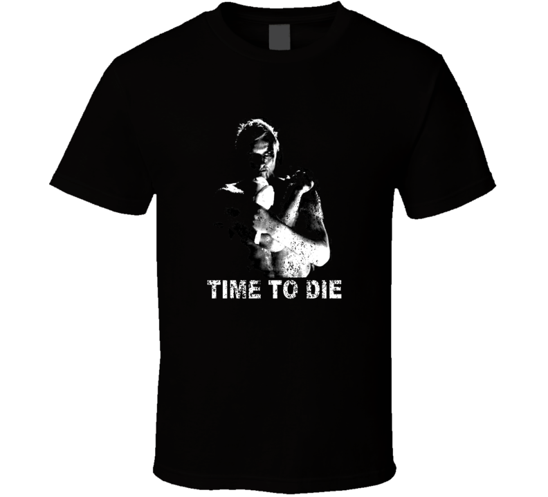 Time To Die Blade Runner Roy Batty Rutger Hauer T Shirt