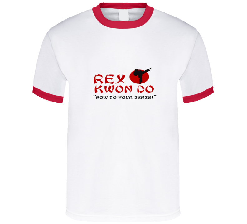 Napoleon Dynamite - Rex Kwon Do - red ringer T Shirt