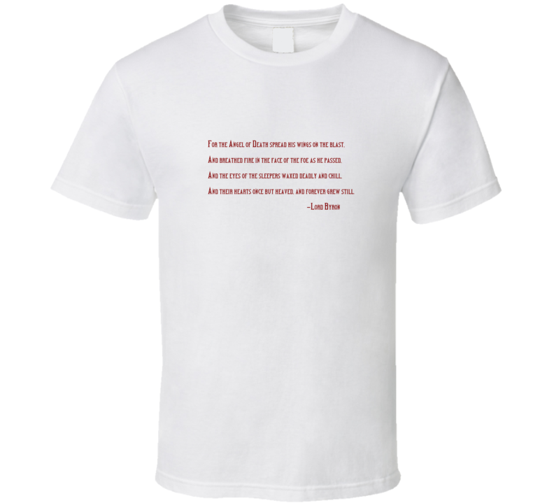 The Destruction of Sennacherib Sterling Archer T Shirt b