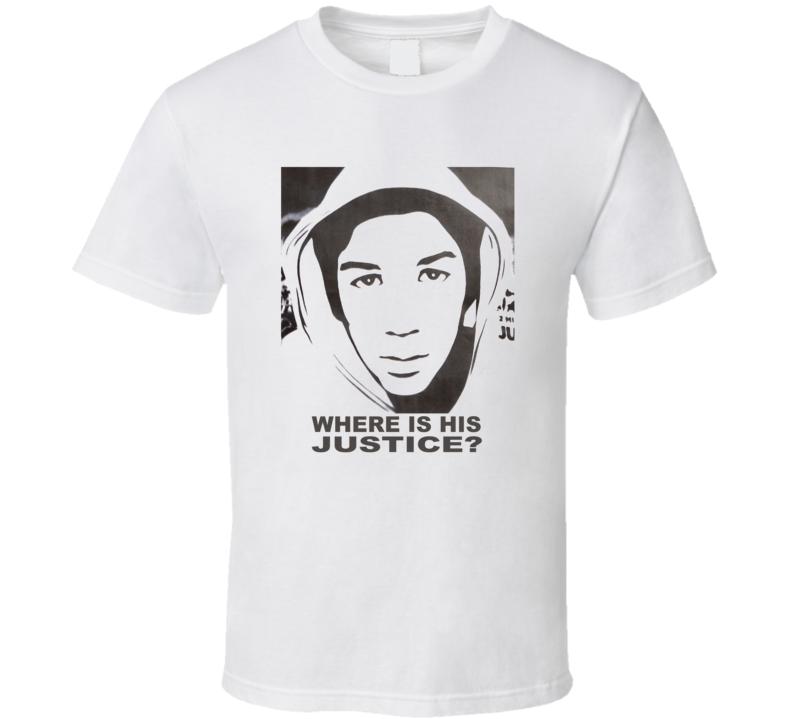 Trayvon Martin Justice T Shirt