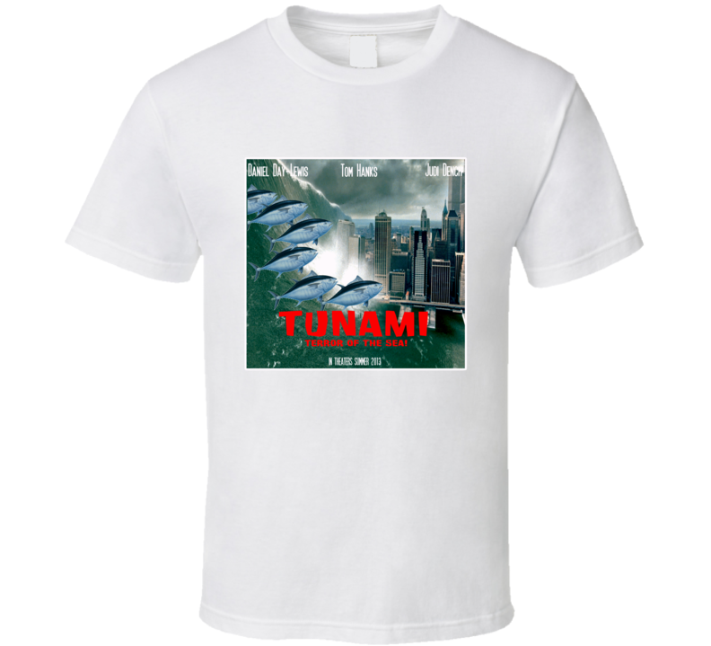 Tunami Movie Poster T Shirt