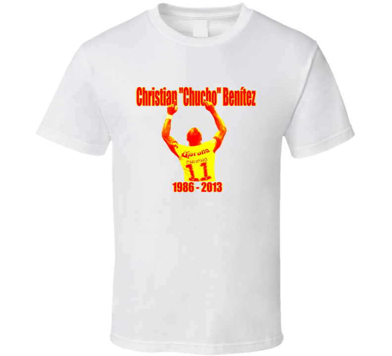 Christian Chucho Benitez Equadorian Soccer Star Tribute T Shirt