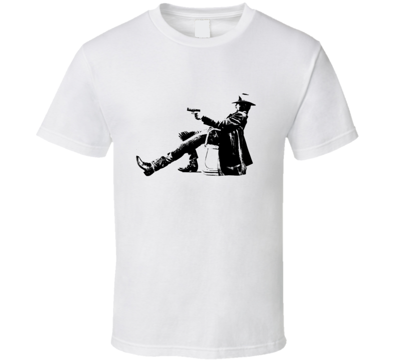 Justified Raylan Givens Gun Drawn T Shirt