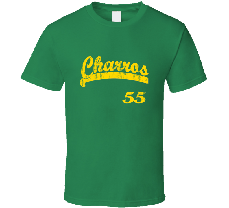 Eastbound and Down Kenny Powers Charros 55 Distressed T Shirt