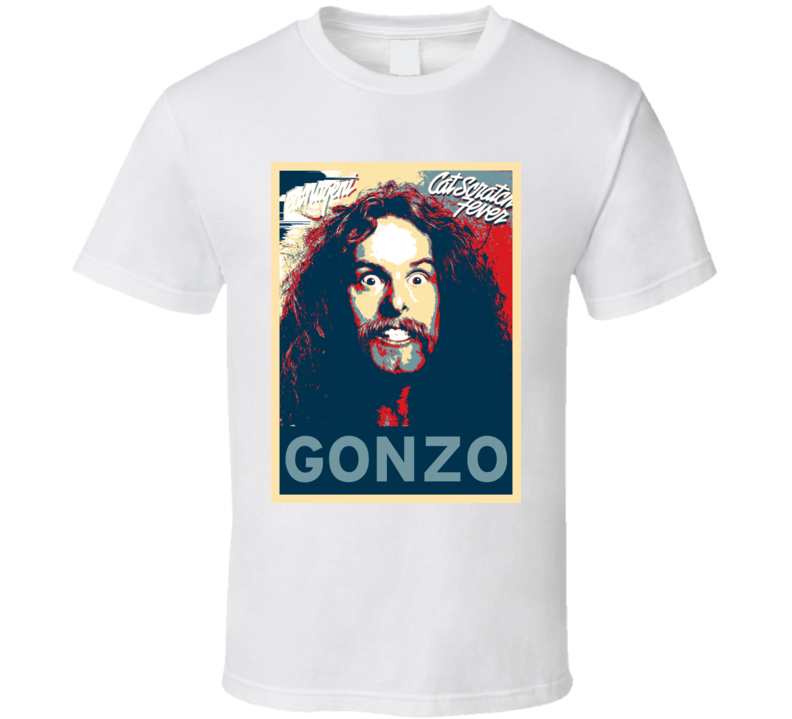 Ted Nugent GONZO Hope Poster Guitarist T Shirt