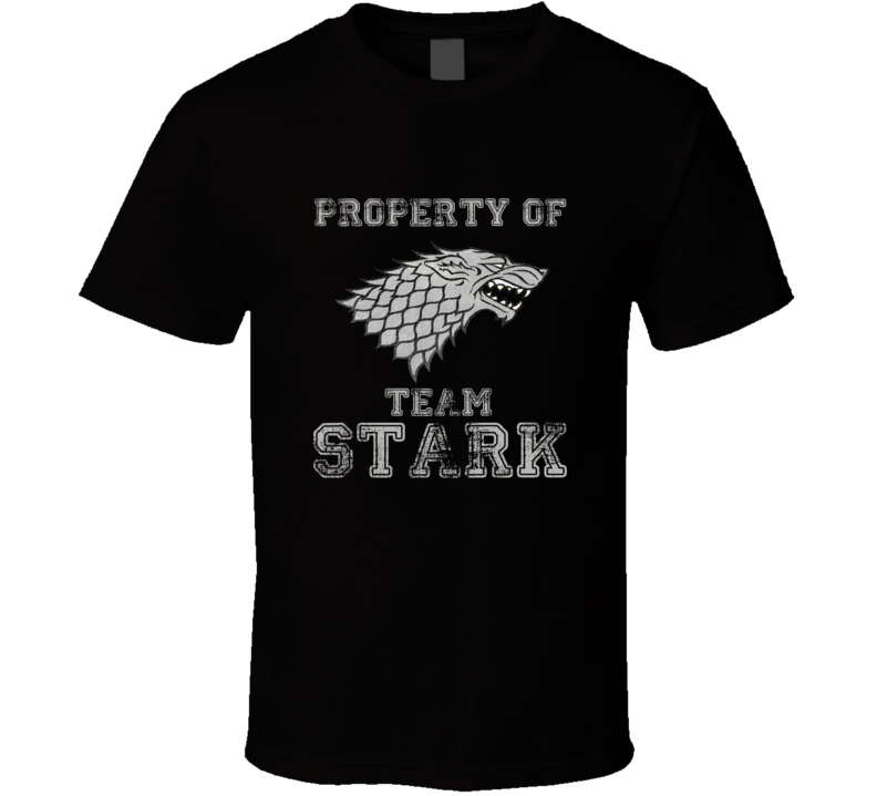 Game of Thrones Team Stark T Shirt