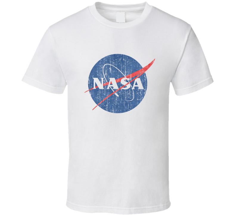 Big Bang Theory Sheldon Cooper NASA Vintage Distressed T Shirt