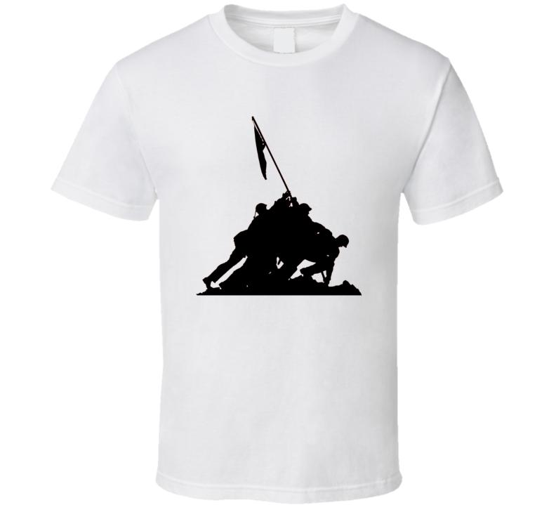 US Marine Corps Iwo Jima Memorial T Shirt