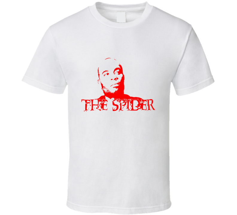 Anderson Silva The Spider T Shirt