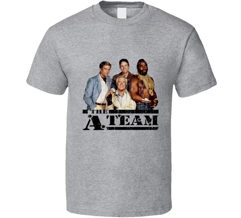 The A Team Vintage Distressed T Shirt