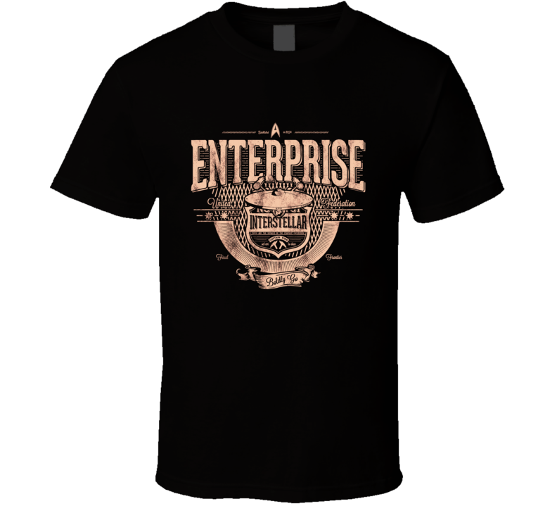 Star Trek Enterprise Vintage Distressed T Shirt