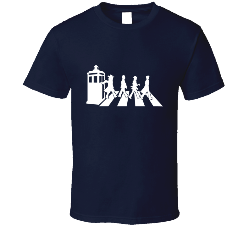 Dr Who Evolution of Dr Who T Shirt