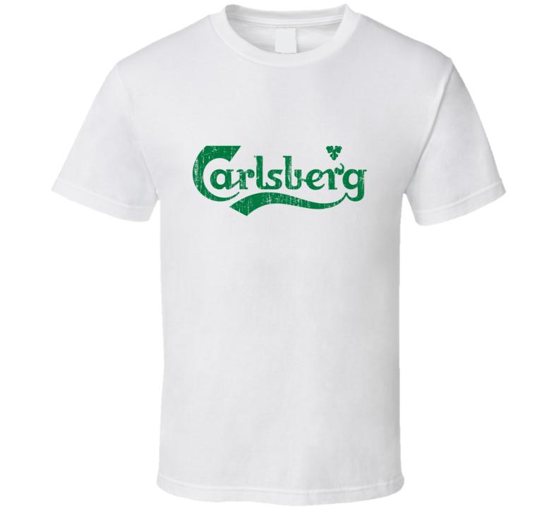 Carlsberg Beer Vintage Distressed T Shirt