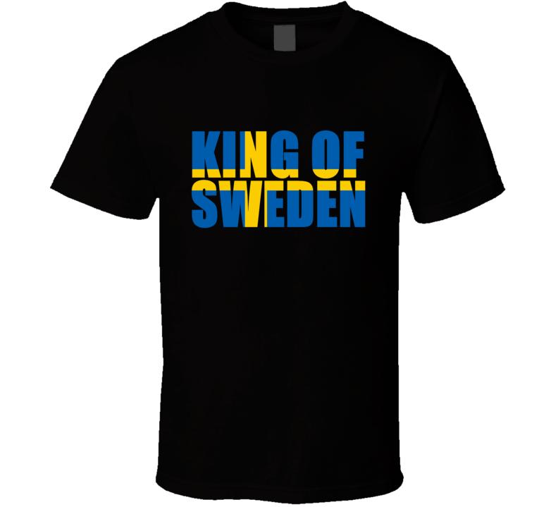 Jacob Rossmann King Of Sweden T Shirt