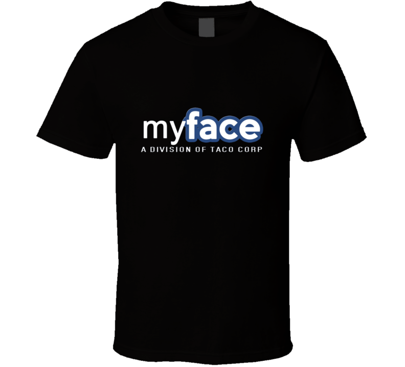 The League Taco Corp Myface T Shirt