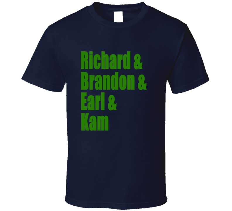 Seattle Legion of Boom T Shirt