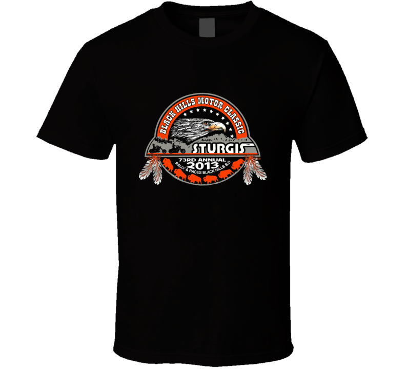 Sturgis 2012 Motorcycle Rally T Shirt