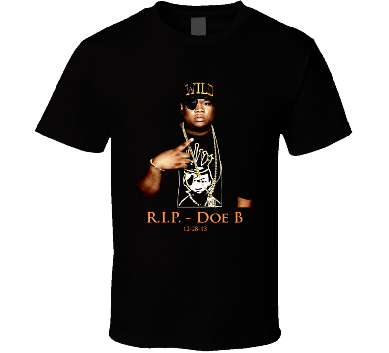 Doe B Hustle Gang Tribute T Shirt