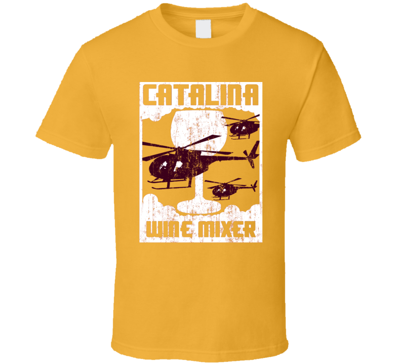 Step Brothers Catalina Wine Mixer Distressed T Shirt