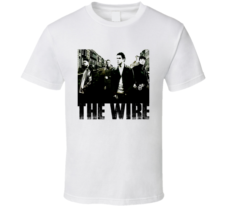The Wire Stringer Bell T Shirt