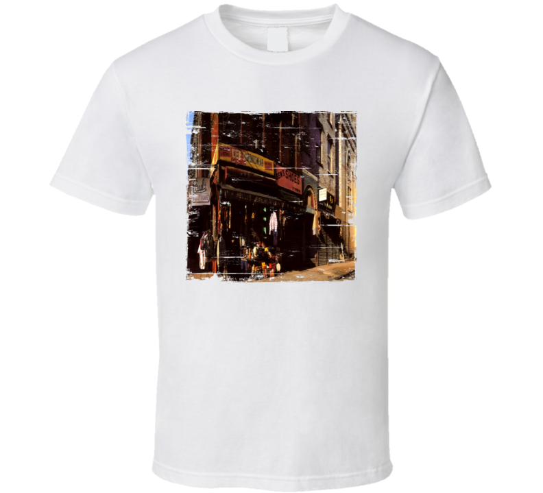 Beastie Boys Pauls Boutique Album Cover Distressed Image T Shirt
