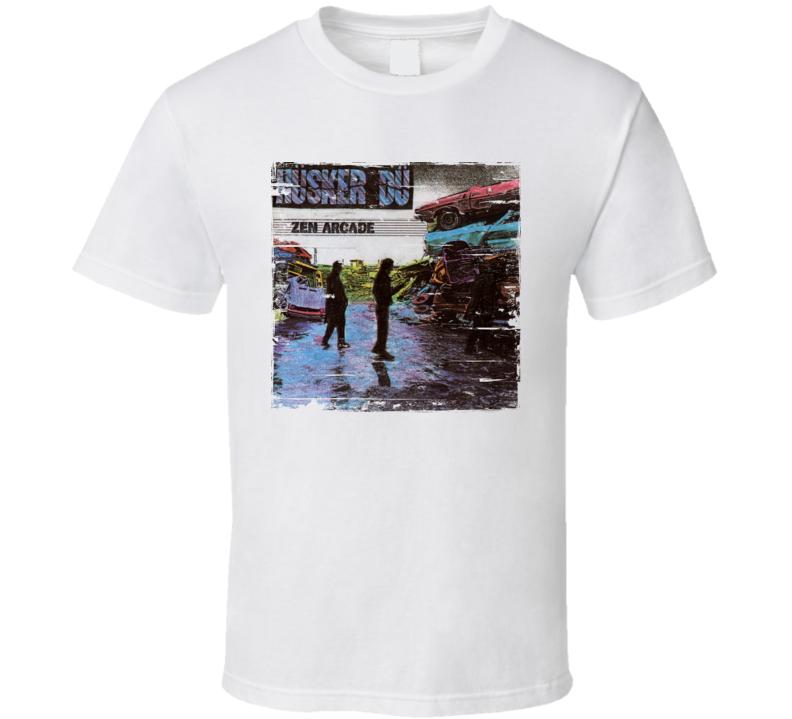 Husker Du Zen Arcade Album Cover Distressed Image T Shirt