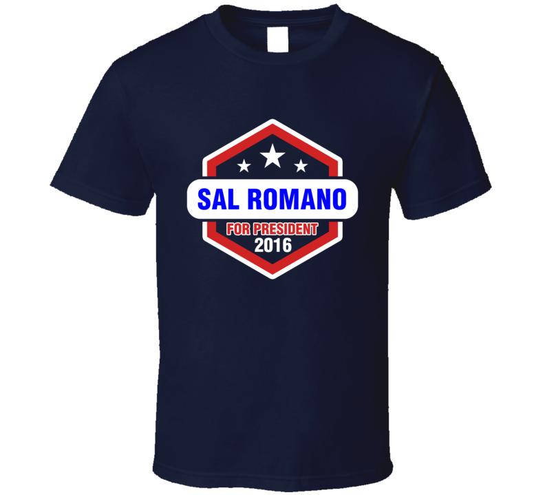 Sal Romano For President 2016 Mad Men TV Show T Shirt
