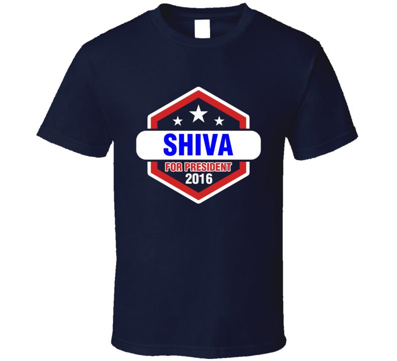 Shiva For President 2016 The League TV Show T Shirt