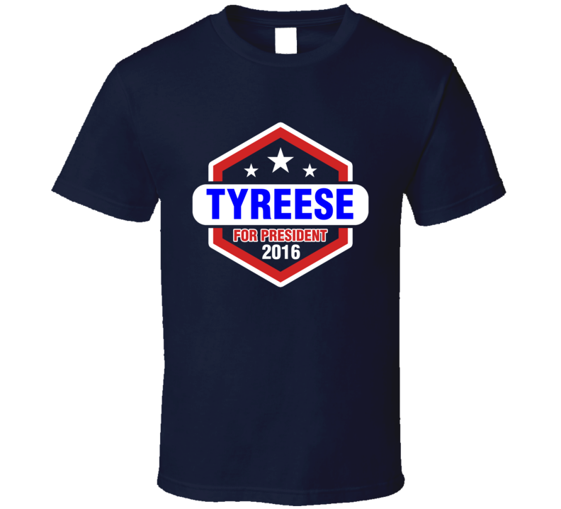 Tyreese For President 2016 The Walking Dead TV Show T Shirt
