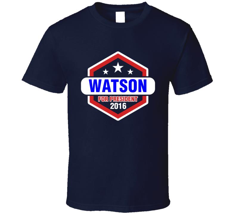 Watson For President 2016 Sherlock TV Show T Shirt