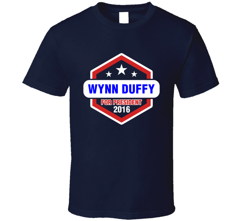Wynn Duffy For President 2016 Justified TV Show T Shirt