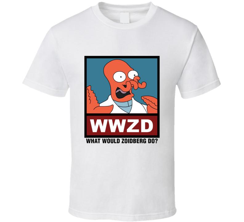 What Would Zoidberg Do WWZD Futurama T Shirt
