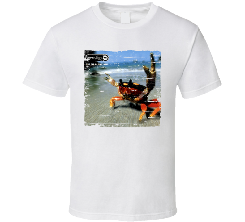 Prodigy The Fat Of The Land Album Cover Distressed Image T Shirt