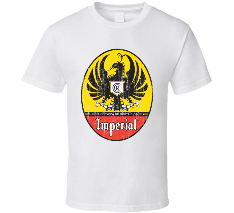 Imperial Beer Distressed Image T Shirt