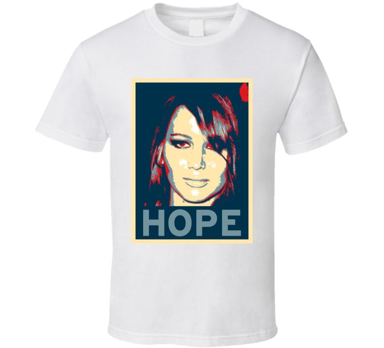 Jennifer Lawrence HOPE poster T Shirt