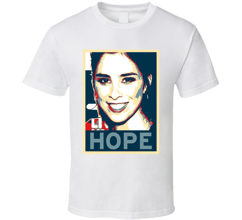 Sarah Silverman HOPE poster T Shirt
